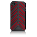 Case-Mate iPhone 4 Torque Case Black - Red
