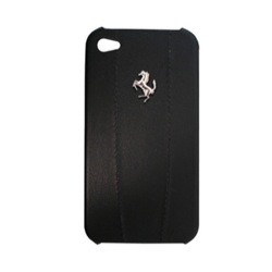 Чехол Ferrari для iPhone 4(s) Hard Modena Black