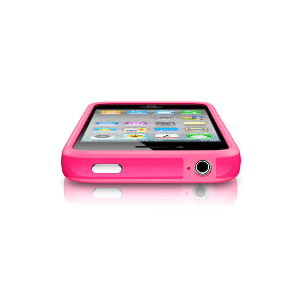 Чехол Apple iPhone 4(s) Bumper - Pink