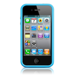 Чехол Apple iPhone 4(s) Bumper - Blue