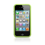 Чехол Apple iPhone 4(s) Bumper - Green