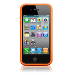 Чехол Apple iPhone 4(s) Bumper - Orange
