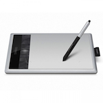 Графический планшет Wacom Bamboo Fun S Pen + Touch Small, [CTH-470S-RUPL]