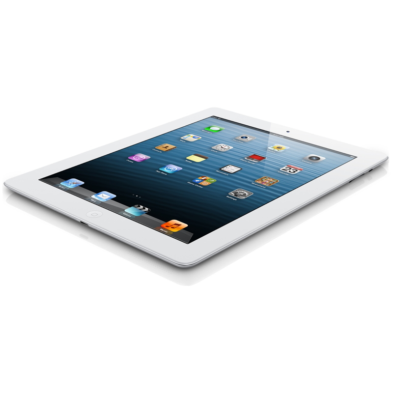 Apple iPad 4 Wi-Fi 32GB - White - MD514