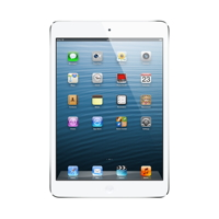 Apple iPad mini Wi-Fi + Cellular 16GB - White & Silver - MD543