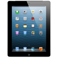 Apple iPad 4 Wi-Fi + Cellular 32GB - Black - MD523