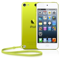 Apple iPod touch 5 64GB - Yellow - [MD715RP/A]