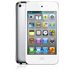 Apple iPod touch 4 8GB - White - MD057RP/A