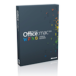 Microsoft Office for Mac Home and Business 2011 (Русский) - 1-Pack