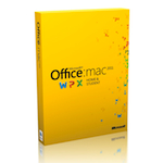 Microsoft Office for Mac Home and Student 2011 (Русский) - 1-Pack
